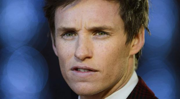 Eddie Redmayne attending the premiere of The Danish Girl in London