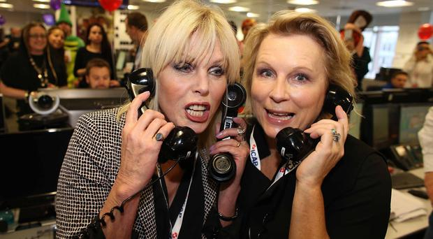 Joanna Lumley and Jennifer Saunders are reprising their roles as Edina Monsoon and Patsy Stone in the big-screen adaptation