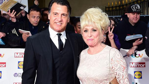 Barbara Windsor and husband Scott Mitchell at The Pride of Britain Awards