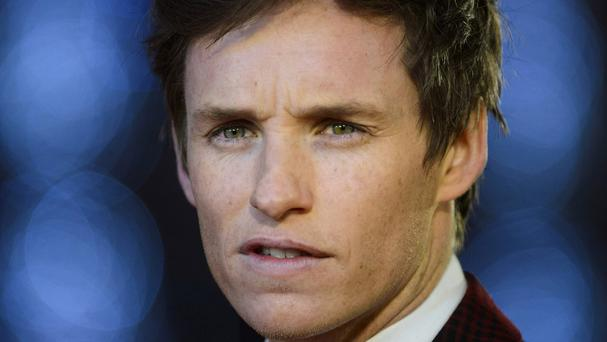 Eddie Redmayne plays writer Newt Scamander in the adaptation of JK Rowling's book