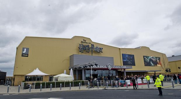 Warner Bros Studios in Watford is celebrating the 15th anniversary of the release of Harry Potter And The Philosopher's Stone