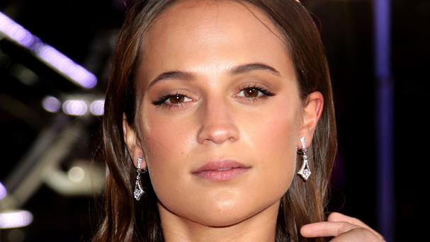 Swedish actress Alicia Vikander