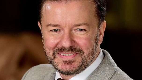 Ricky Gervais usually pokes fun at the Hollywood elite when presenting the Golden Globes