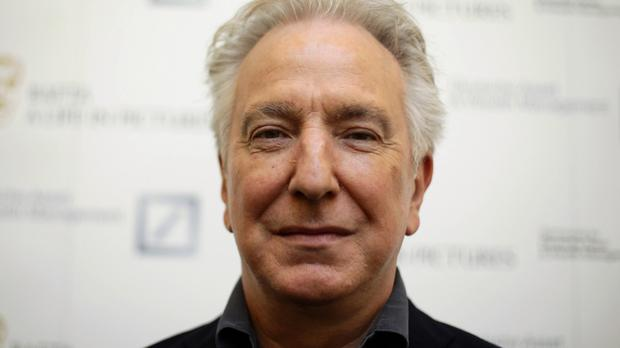 Tributes have been paid to Alan Rickman