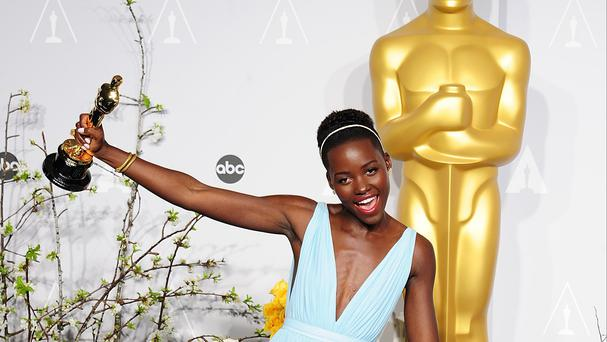 Lupita Nyong'o won the Best Supporting Actress Oscar for 12 Years A Slave