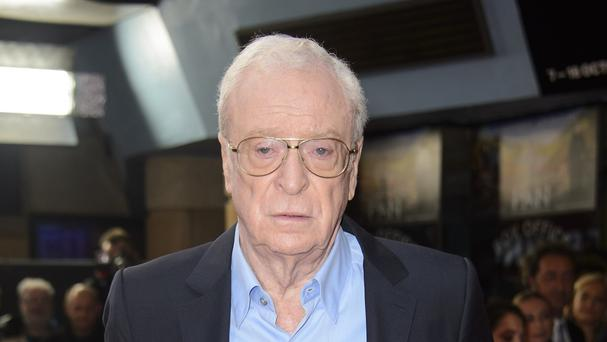 Sir Michael Caine said he was relieved not to get an invitation to the Oscars