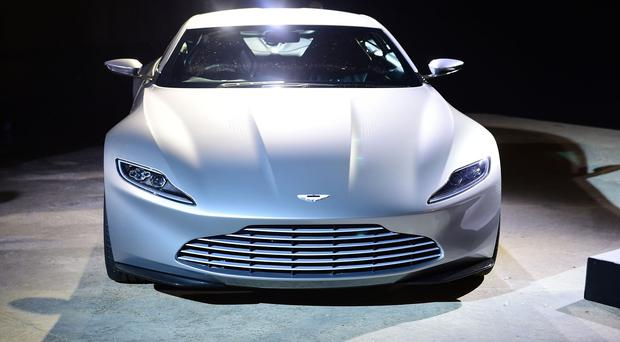 The first ever Aston Martin DB10 to go on public sale will go under the hammer