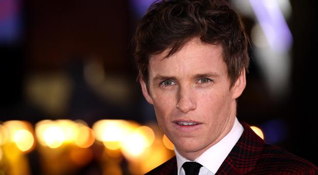 Eddie Redmayne attending the premiere of The Danish Girl