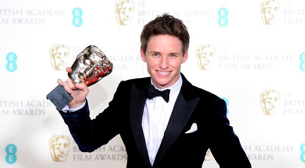 Eddie Redmayne won last year's Bafta for Leading Actor
