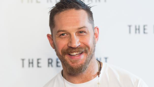 File photo dated 6/12/2015 of Tom Hardy who has been voted the most attractive British leading man of film and TV, according to a new poll.