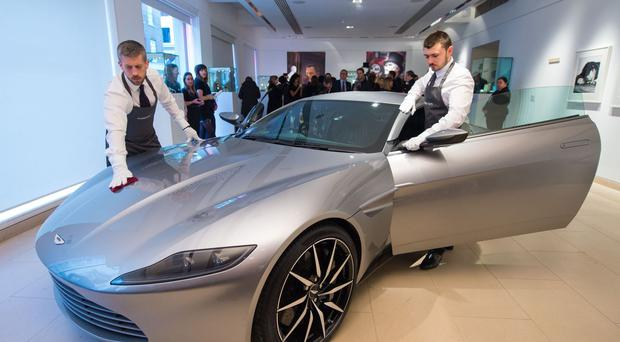 No, Mr Bond, I expect you to drive - 007's Aston Martin DB10 sold for more than £2.4 million