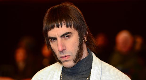 Sacha Baron Cohen based his look in new film Grimsby on the Oasis frontman