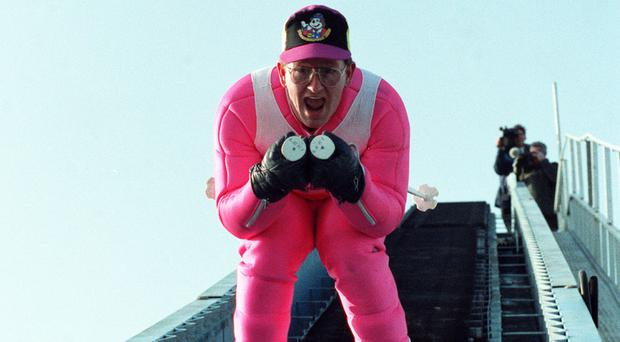 Eddie the Eagle soared to fame when he finished last at the Calgary Winter Olympics in 1988