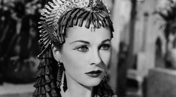 Vivien Leigh as Cleopatra in the film Caesar and Cleopatra (1945)
