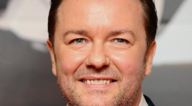 In the new film, Ricky Gervais's character David Brent is working as a sales rep for a company called Lavichem and trying to launch his music career on the side
