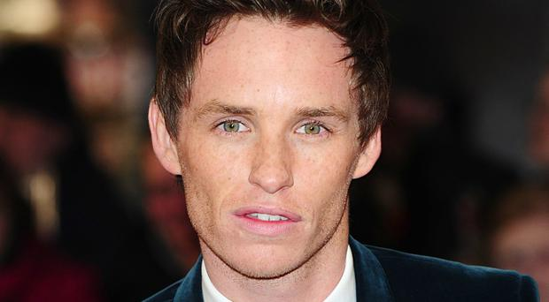 Eddie Redmayne stars in the movie, set in the same fictional world as Harry Potter
