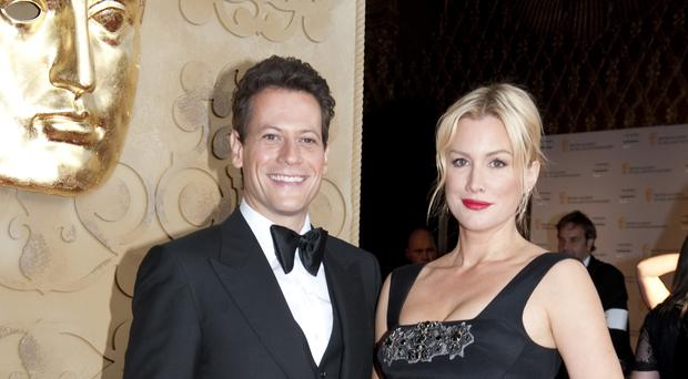 Ioan Gruffudd and Alice Evans have two daughters after a successful outcome to IVF treatment
