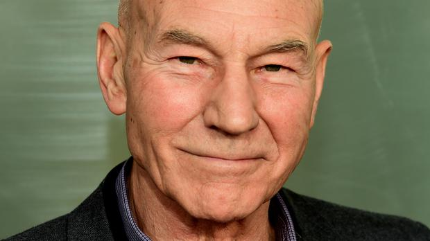 Sir Patrick Stewart plays a skinhead neo-Nazi in the film Green Room