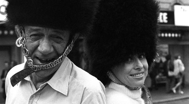 Carry On legends Sid James and Dame Barbara Windsor