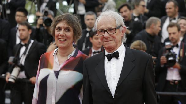 Director Ken Loach at the Cannes Film Festival (AP)