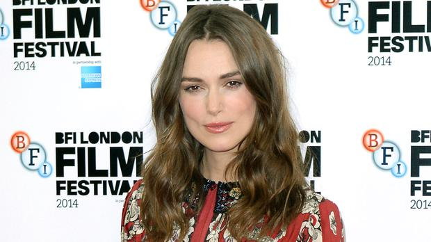John Carney says he feels ashamed of his comments about Keira Knightley, pictured