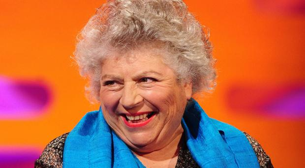 Miriam Margolyes has been in a gay relationship for 48 years