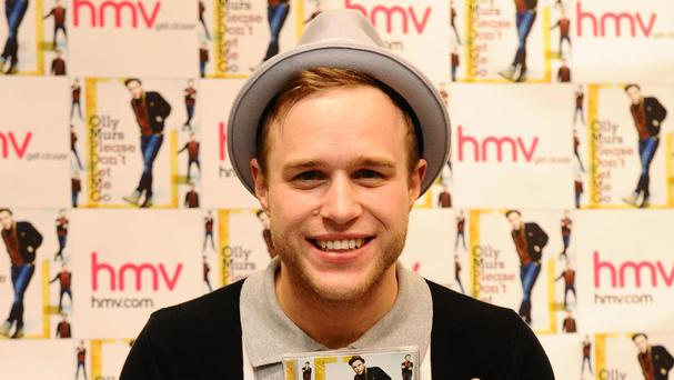 Olly Murs does not fancy taking the steering wheel of Top Gear