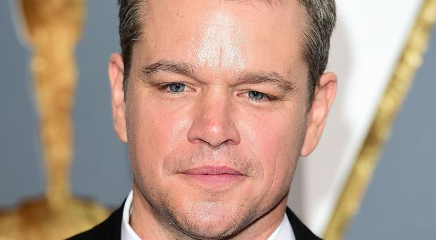 Matt Damon is in London for the European premiere of Jason Bourne