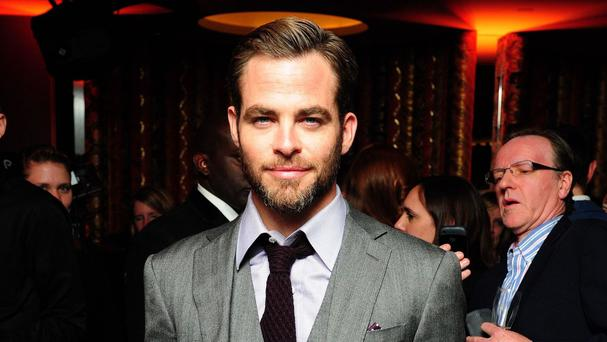 Chris Pine is among the stars expected on the red carpet in Leicester Square tonight