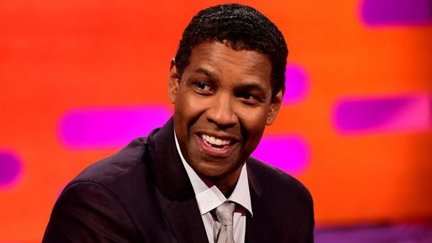 Denzel Washington is starring in The Magnificent Seven