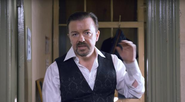 David Brent is back