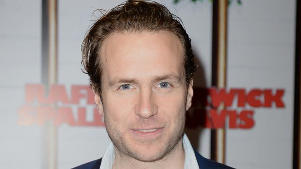 Rafe Spall will not go naked again on camera