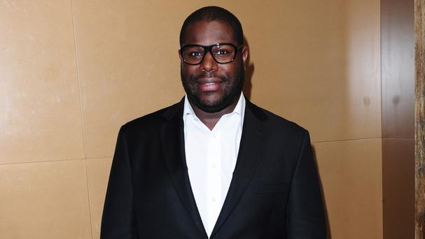 Steve McQueen said he was 'humbly honoured' to receive a BFI Fellowship