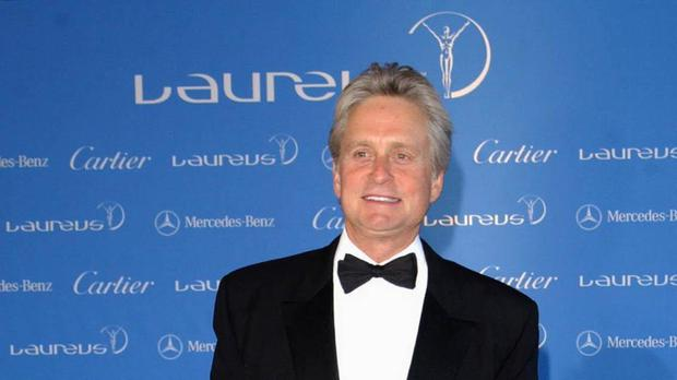 Michael Douglas will take questions from the public