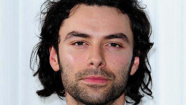 Aidan Turner was crowned best television actor at the GQ Men of the Year awards