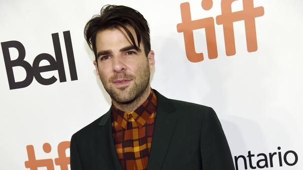 Zachary Quinto plays journalist Glenn Greenwald in Oliver Stone's new film Snowden (AP)