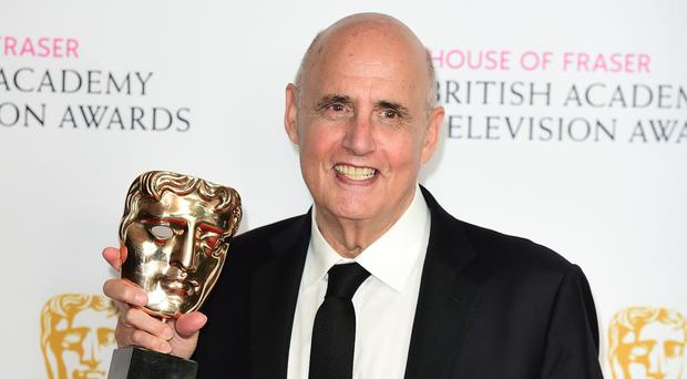Jeffrey Tambor at the Bafta TV Awards in London in May