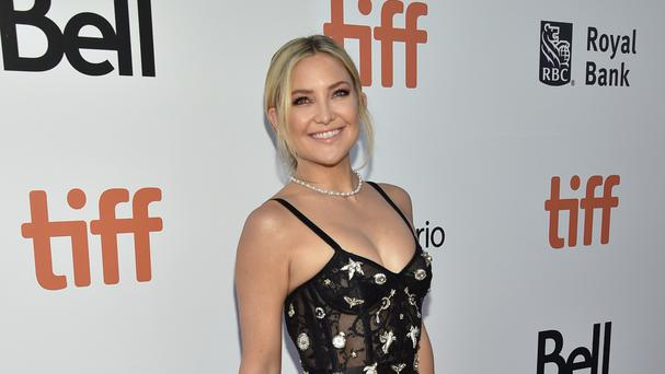 Kate Hudson at the Deepwater Horizon premiere at the Toronto International Film Festival (AP)