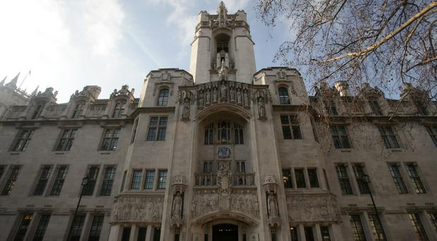 Scenes from the film were shot at the Supreme Court in London, making legal history