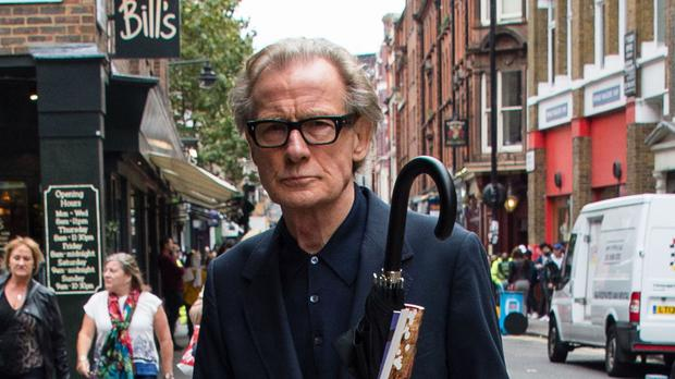Bill Nighy plays a fractious movie star in Their Finest