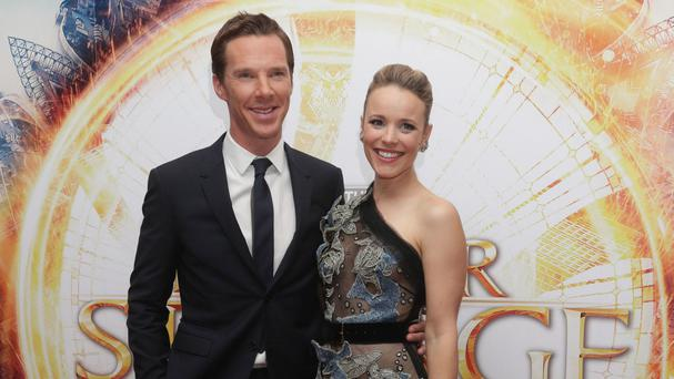 Rachel McAdams will next be seen on the big screen as Dr Christine Palmer in Marvel film Doctor Strange opposite Benedict Cumberbatch