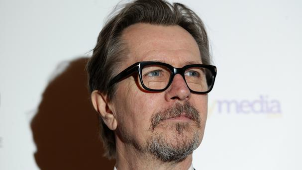 Gary Oldman has been transformed to play Winston Churchill