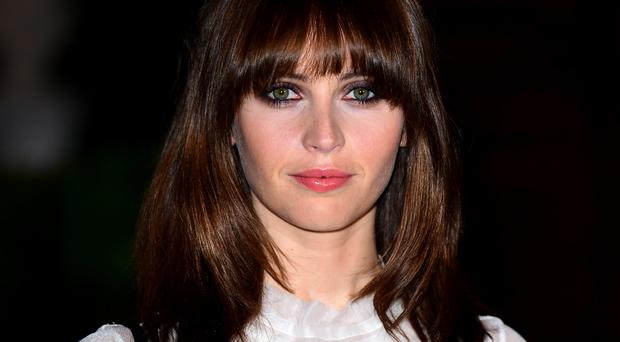 Felicity Jones is the star of the latest Star Wars film, which is due to premiere in London