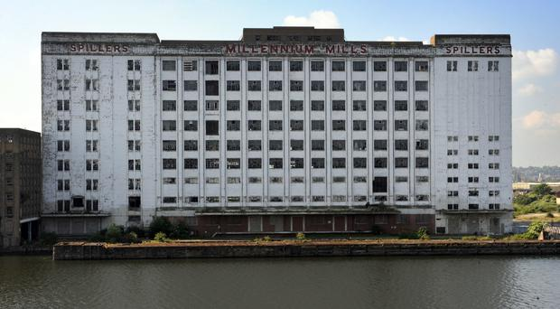 The stunt will take place at Millennium Mills