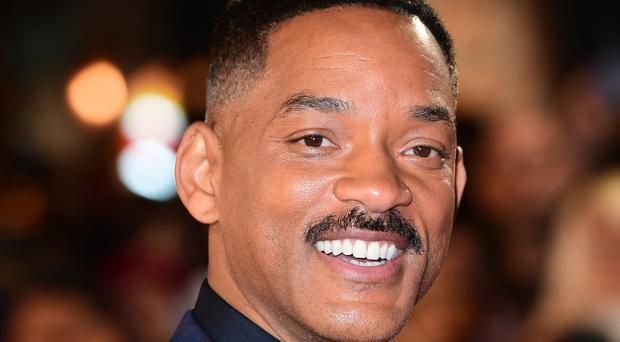 Will Smith attended the European premiere of Collateral Beauty