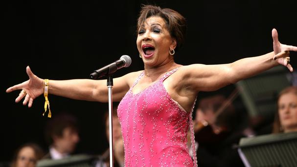 Dame Shirley Bassey sang the Bond themes Goldfinger, Diamonds Are Forever, and Moonraker