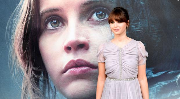 Felicity Jones plays Jyn Erso in Rogue One: A Star Wars Story