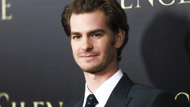 Andrew Garfield stars in Mel Gibson's new film Hacksaw Ridge (AP)