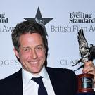 Hugh Grant is in contention for a Bafta