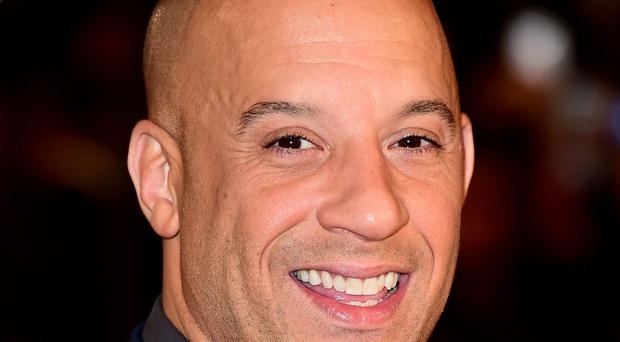 Vin Diesel has attended the premiere of xXx: Return Of Xander Cage.